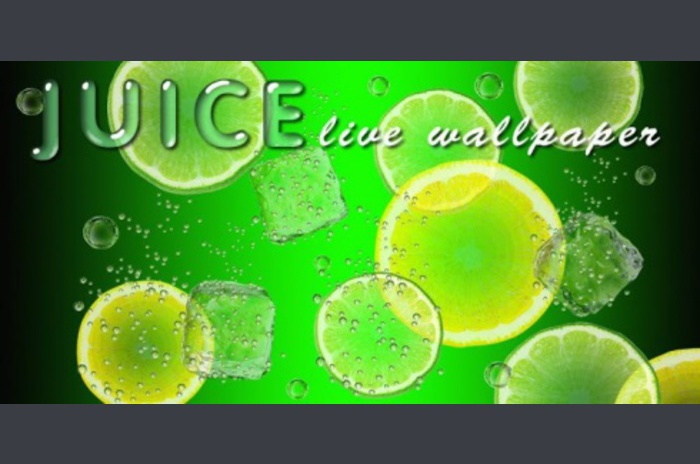Juice live wallpaper