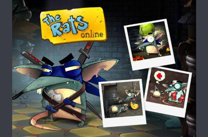Las ratas en línea