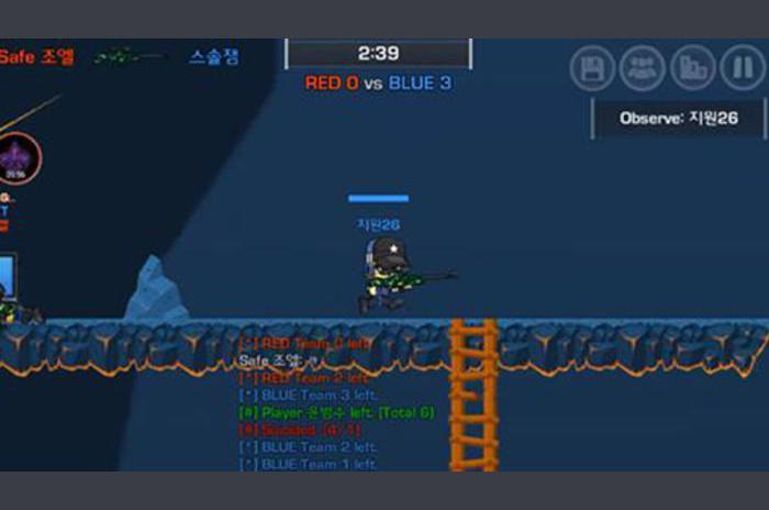 Lostguns: juego de disparos en línea 2D