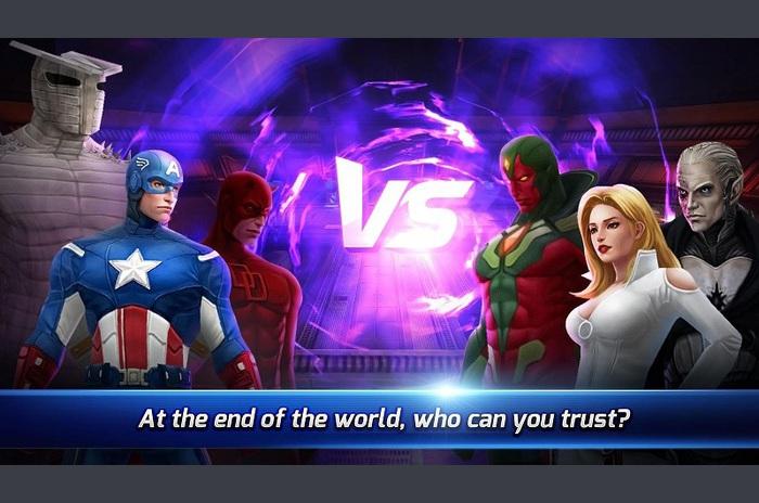 MARVEL Viitorul Lupta