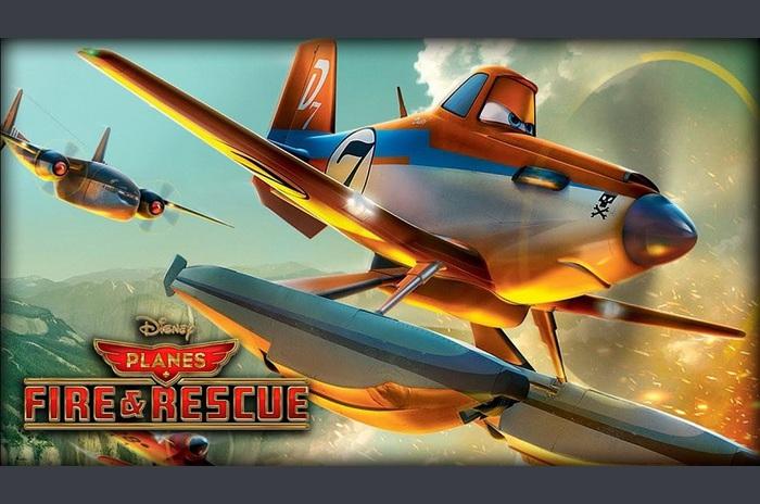 Vliegtuigen: Fire & Rescue
