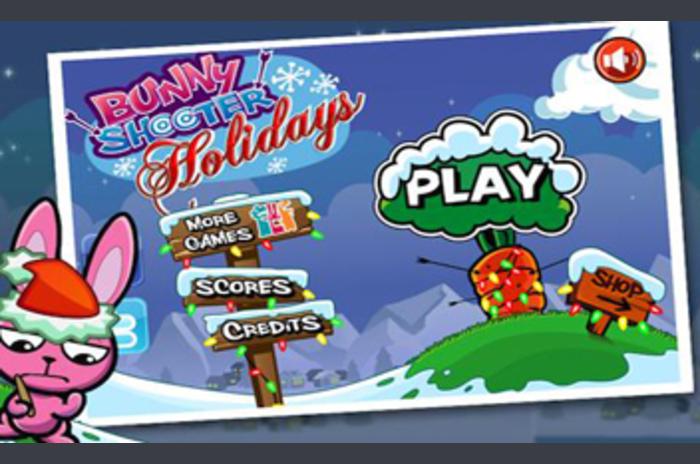 Bunny Shooter Free Christmas