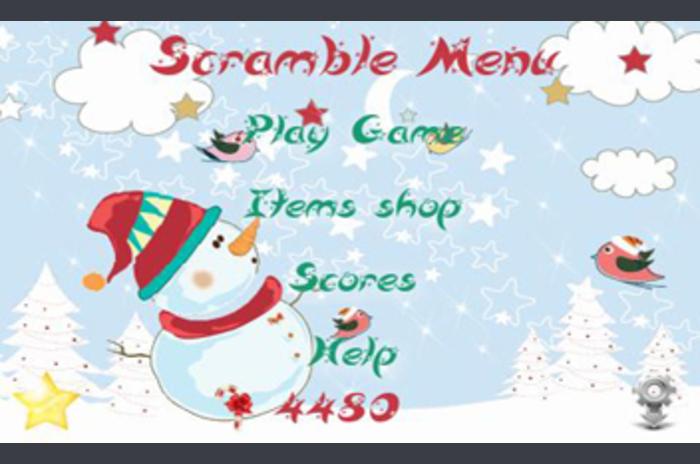Christmas Game Scramble