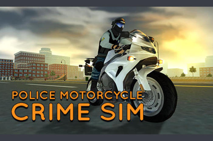 Police sim de crime de moto