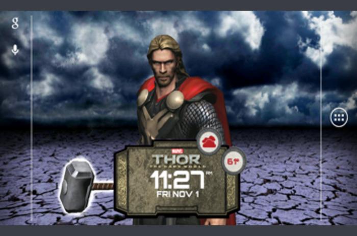 Thor: The Dark mondiale LWP