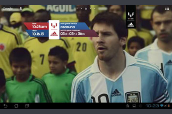 Officiell Messi Live Wallpaper