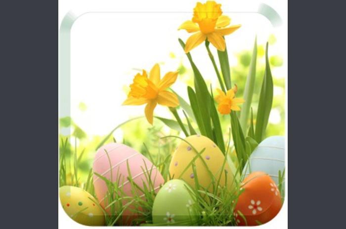 Paște fericit tapet ou