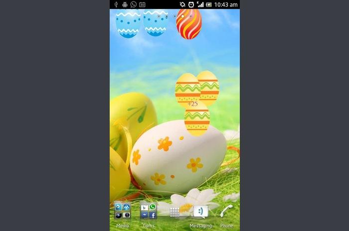 Húsvét Live Wallpaper