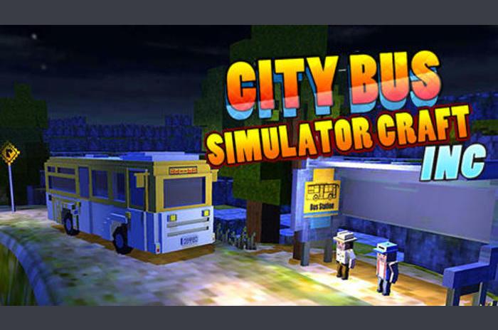 Városi busz szimulátor: Craft inc.