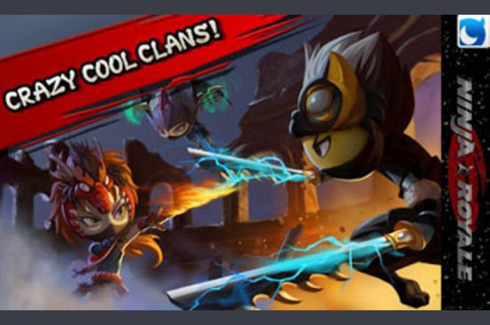 Ninja Akció RPG: Ninja Royale