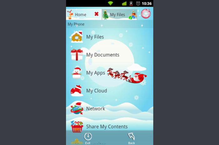 File Expert Christmas Theme