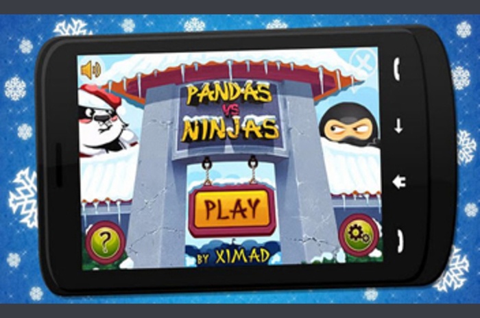 Panda vs Ninjas karácsony