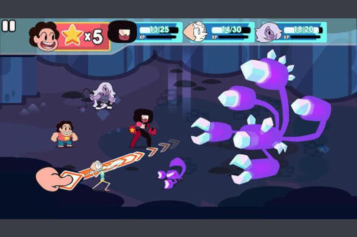 Atac lumina: Steven universul