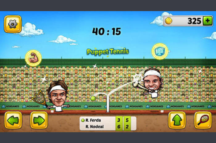 Tenis de Papusi: topspin forehand
