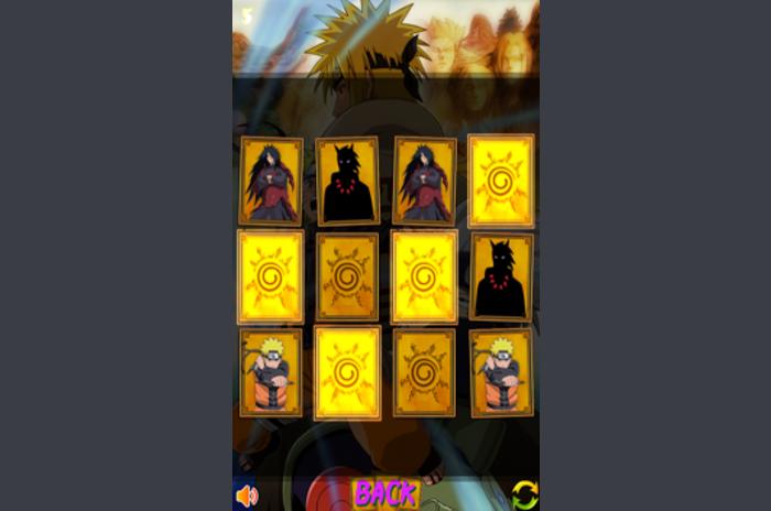 Naruto minne kortspel