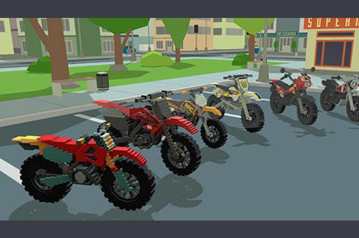 موتو المتسابق 3D: مدينة ممتلئ الجسم 17