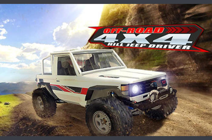 Off Road 4 × 4 Hill Jeep Driver