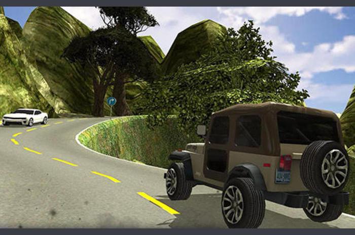 Off Road 4x4 Hill Jeep Driver