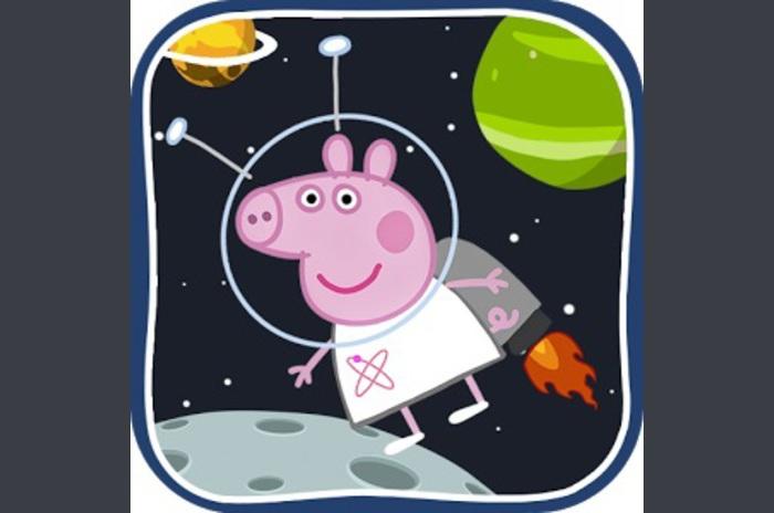 Peppa Uzay oyunu