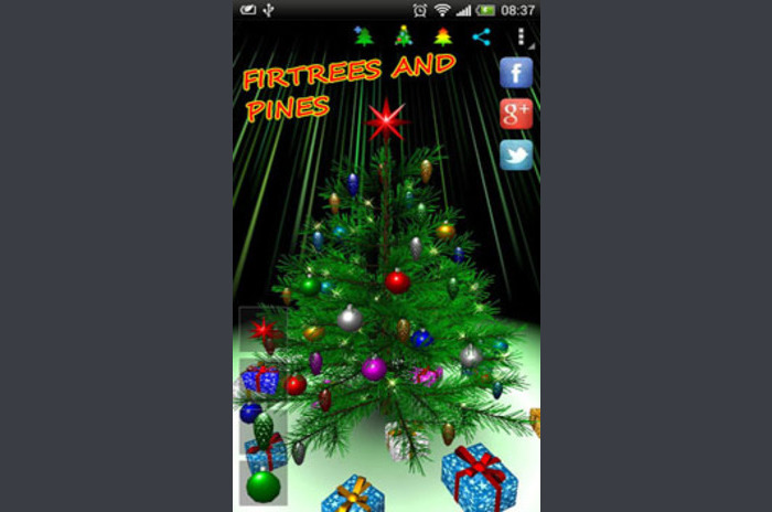 Moj Christmas Tree 3D