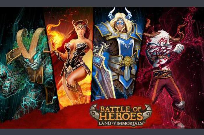 Battle of heroes: Land of immortals