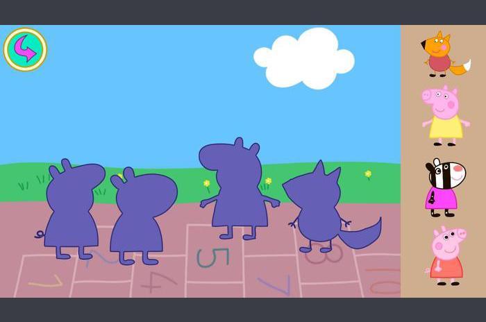 Peppa Pig gyerek Puzzle