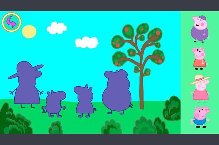 بيبا الخنزير الاطفال الألغاز