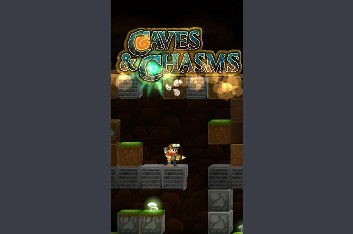 Caves and chasms