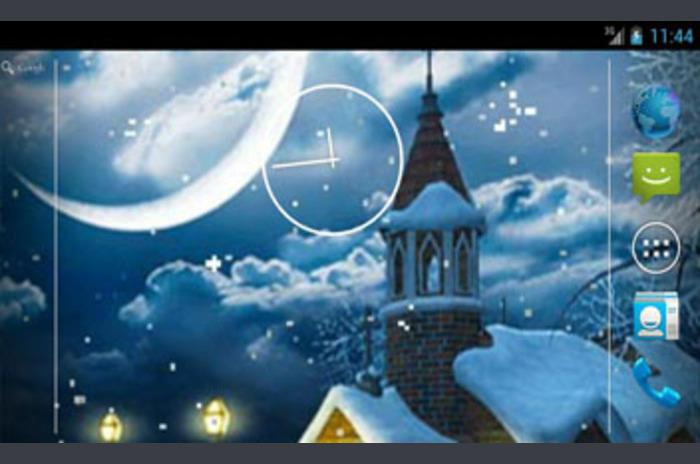 Luz de invierno Live Wallpaper