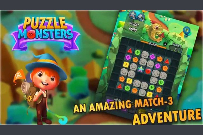Puzzel monsters
