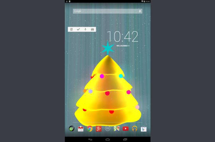 Arbre de Noël 3D Live Wallpaper