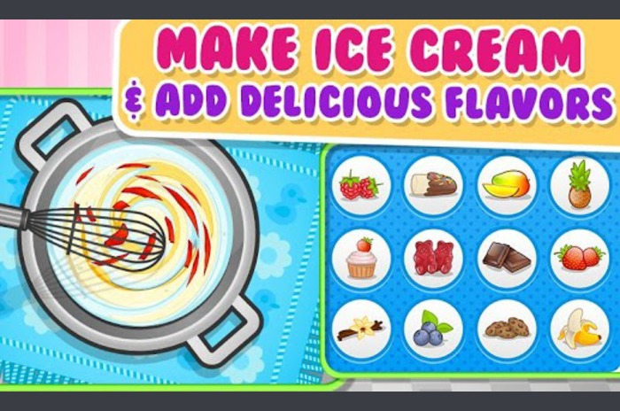 Moj Ice Cream Maker - Hrana Game