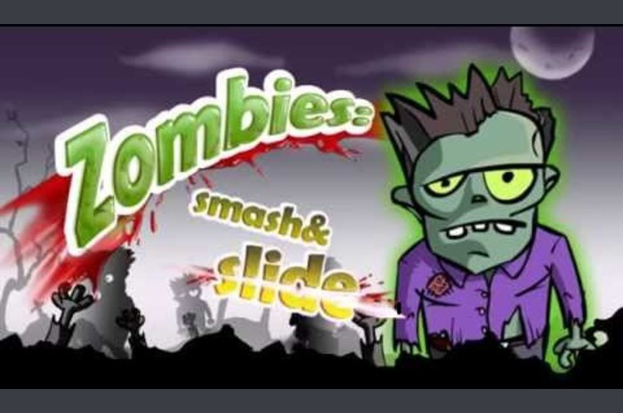 Zombies: Smash & Slide