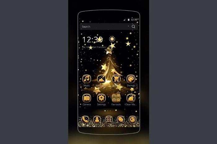 Aur pom de Crăciun