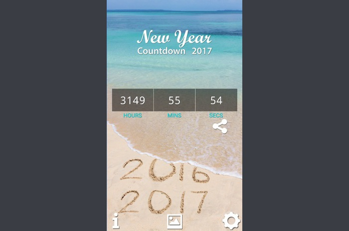 Nova godina Countdown 2017