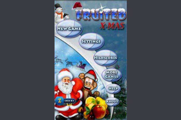 fruited คริสต์มาส