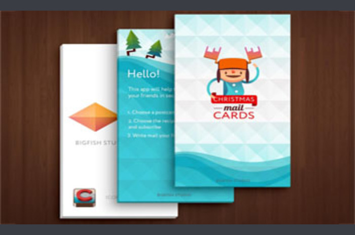 Christmas Mail Cards Lite