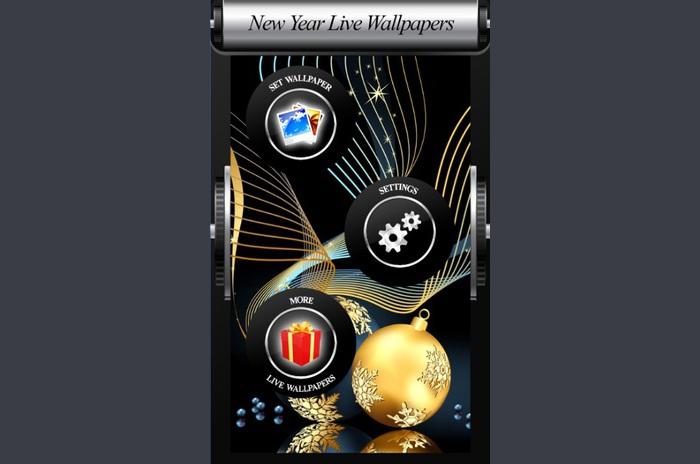 Live Wallpaper de Anul Nou