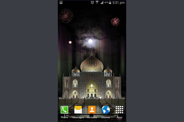 New Year Live Wallpaper