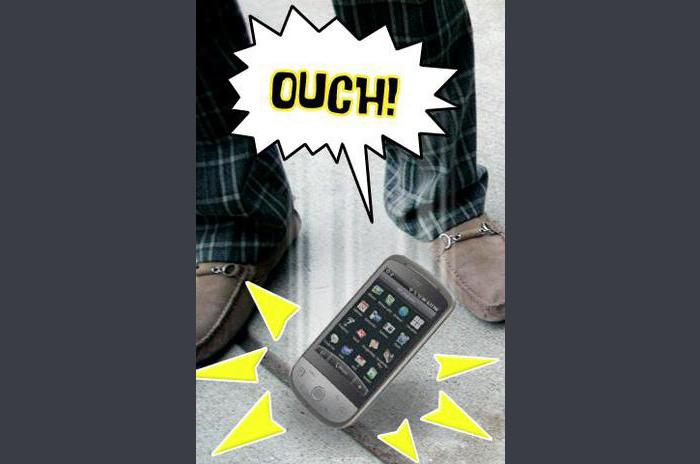 Talking Phone - Ouch!