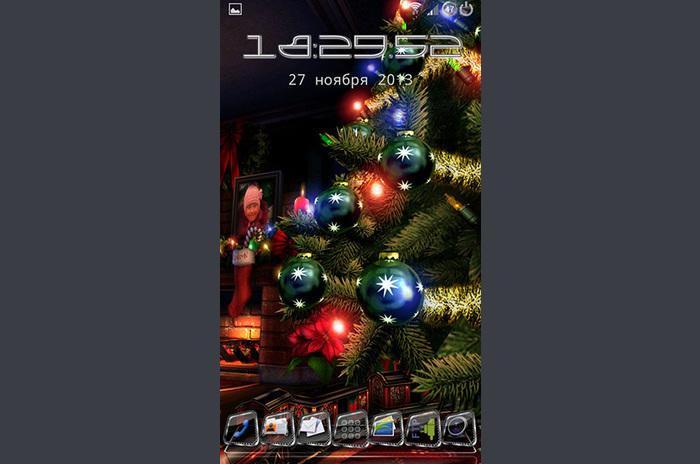 Boże Narodzenie HD LWP