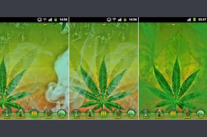 GO Launcher Ganja Weed Theme