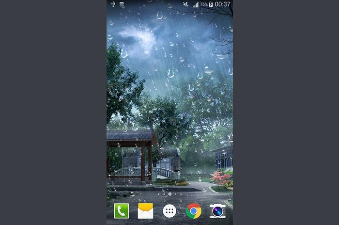 Raindrop livewallpaper