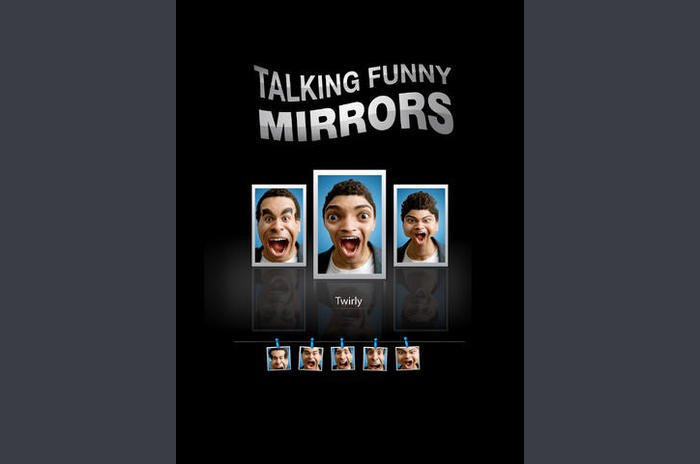 Talking Funny Mirrors gratis