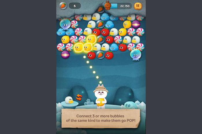 Line bubble 2: The adventure of Cony