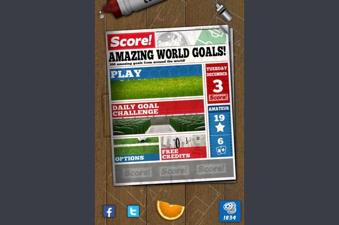Score!  Wereld Goals
