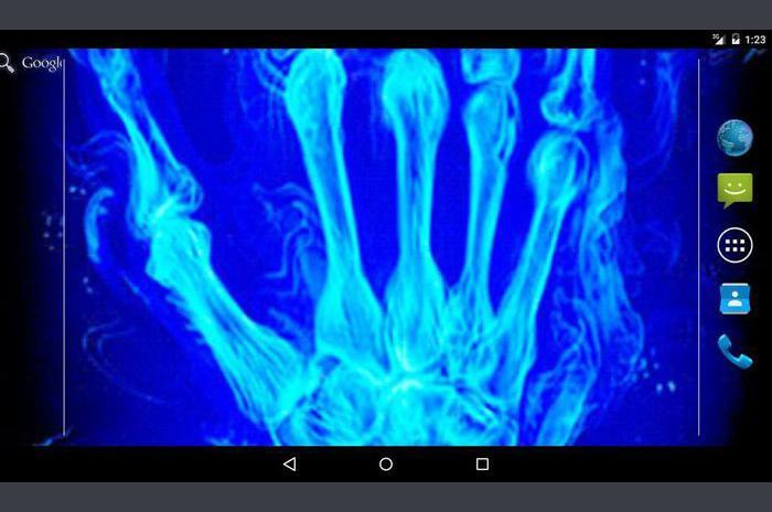 Xray ręczna na żywo Tapety