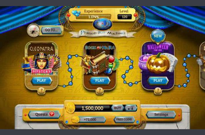 slot machines faraon