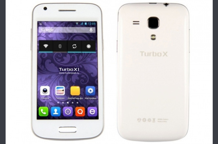 Przegląd smartphone oparty na Android Turbo X1