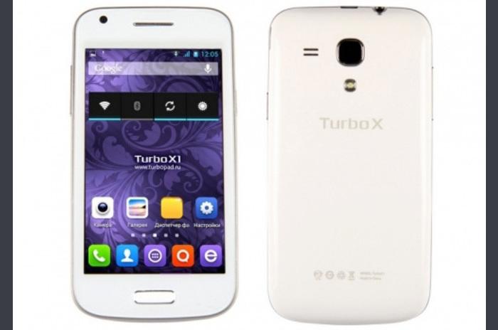 ภาพรวมของมาร์ทโฟนอยู่บนพื้นฐานของเทอร์โบ X1